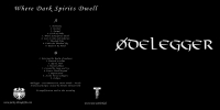 ØDELEGGER - Where Dark Spirits Dwell LP (Neue Ästhetik/Purity Through Fire)
