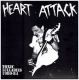 HEART ATTACK - Toxic Lullabies 1980-84 LP (Not On Label)